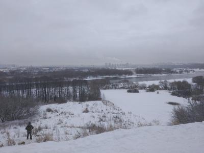 Зима в Коломенском Коломенское зима зимний пейзаж снежная зимняя река Москва-река сугробы