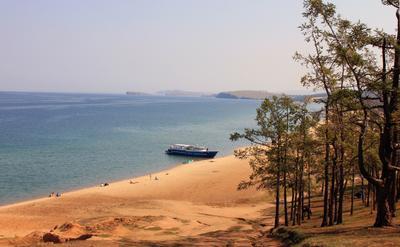 Ольхонский пляж Байкал Ольхон пляж золотой песок