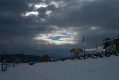 Задумчивость Город небо облака
