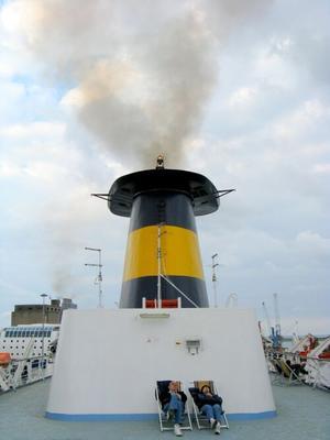 resTinG ferry