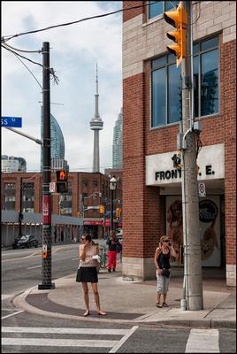 Торонто. На углу