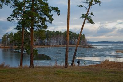 С утра на фотоохоту фотоохота Сугомак утро апрель последний лёд