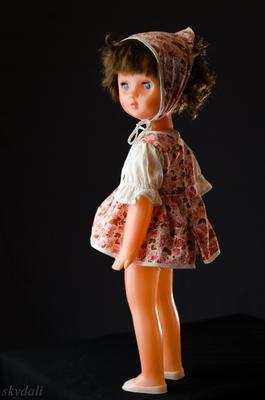 Портрет Олеси кукла девочка ссср олеся skydali