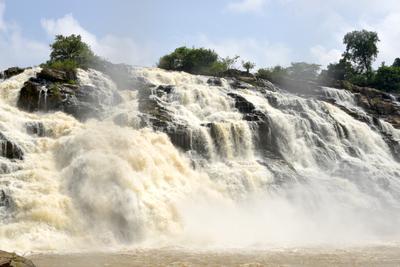 *** Африка водопад Гурара Нигерия