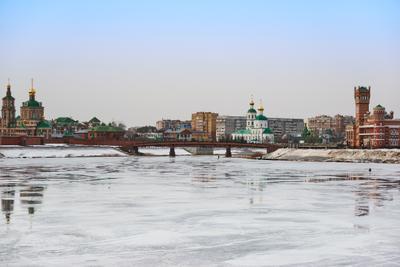 *** йошкар-ола река малая кокшага лед