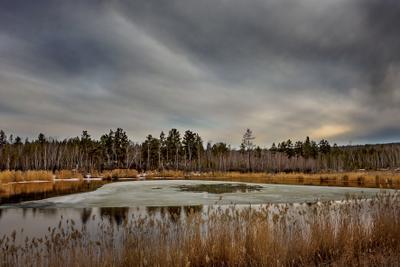 *Весеннее озеро*
