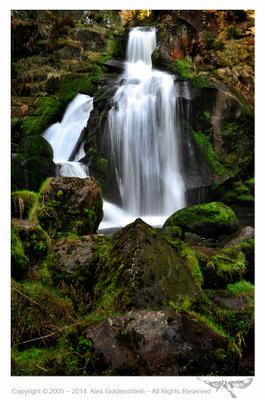 Triberg waterfall ( Трибергский водопад), Шварцвальд, Германия Triberg waterfall Трибергский водопад Шварцвальд Германия