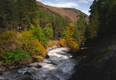 Приэльбрусье Приэльбрусье Чегет горы река эльбрус