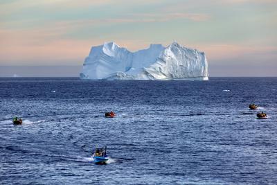 В мире айсбергов Гренландия