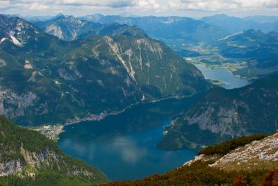Долина Вахау горы оезро вид австрия долина вахау гальштат путешествие