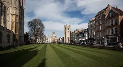 King's college & вид на Кембридж Alpha A900