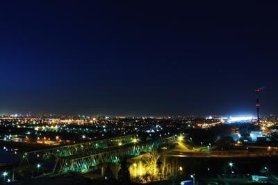 *** Москва ночь Россия город вечер огни свет night Russia Moscow light city sky