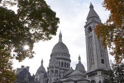 Базилика Сакре-Кёр 2017 монмартр ноябрь осень париж соборы