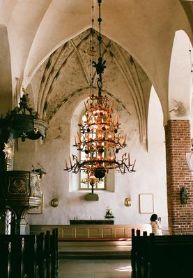 Cathedral. Finland. Porvoo. Архитектура Интерьер Собор Финляндия Порвоо
