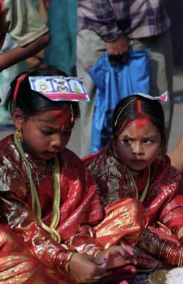 *** непал, дети, праздник