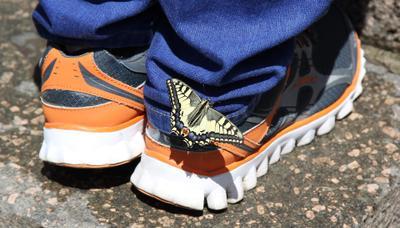 *** Бабочка кроссовки джинсы