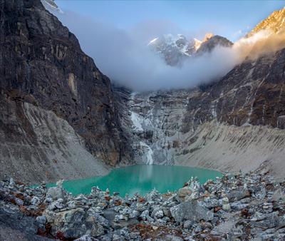 Озеро Сабал Цо, 4465 м. Непал.