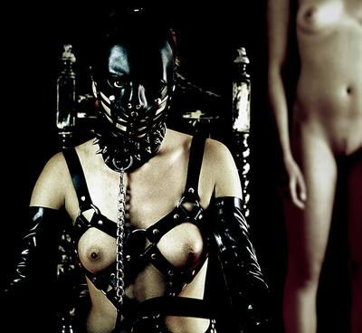Lady and slave