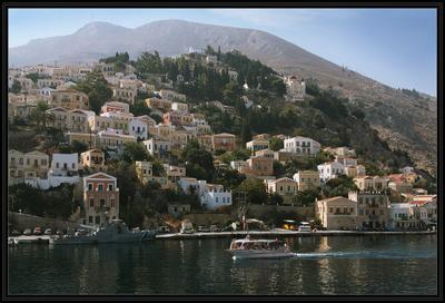 Сими Греция, Додеканес, остров, Сими
