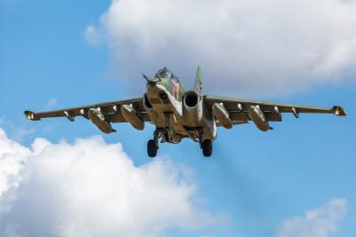 76-й авиабаза Кубинка Су-25 репетиция Парад