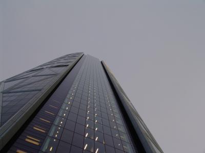 """""""В сером-сером городе..."""". Канада Альберта Калгари небоскрёб"""