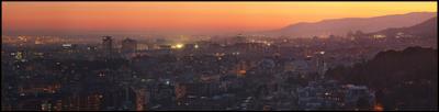 ***3636 Barcelona Барселона Испания панорама парк Гуэль