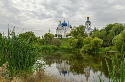 Боголюбово храм церковь монастырь пруд отражения боголюбово