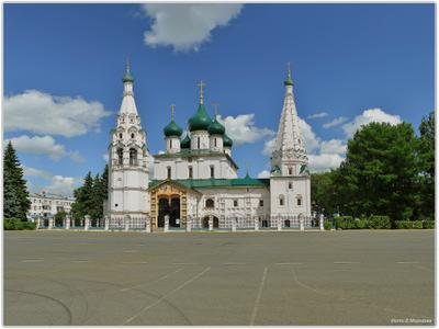 Ярославль. Церковь Ильи Пророка  Ярославль    Церковь Ильи Пророка
