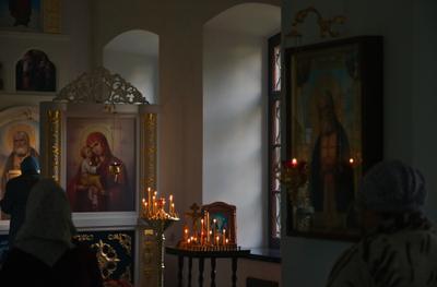 Вечерня. храм православие богослужение вечерня