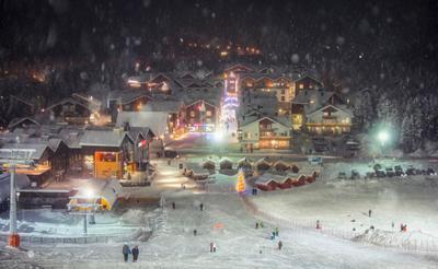 Новогоднее настроение Levi Lapland