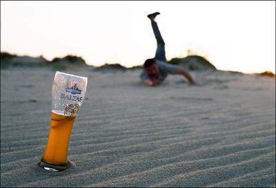 лучшее литовское пиво! Швитурис балтас