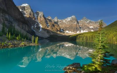 Rockies Classic Moraine Lake Banff Alberta Canada