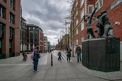 ПАМЯТЬ ПОЖАРНЫМ Лондон национальный мемориал пожарным