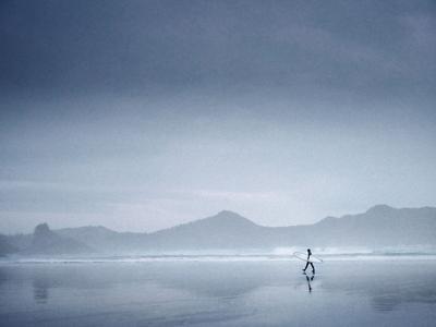 Tofino Океан серфинг пейзаж