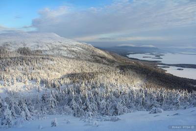 *** пейзаж, природа, зима, лес, сопки, горы, перевал, мороз, холож, залив, белое море, кандалакша