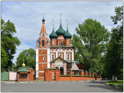 Ярославль. Церковь Михаила Архангела Ярославль   Церковь Михаила Архангела