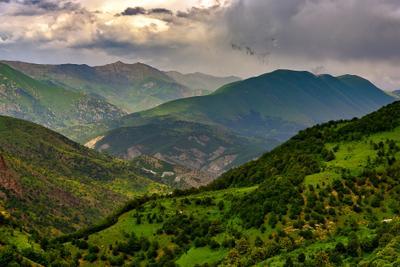 Волшебные горы Арцаха горы армения арцах закат