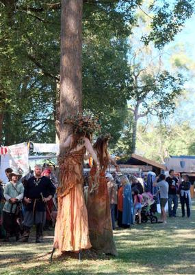 Лесные феи Medieval фестиваль