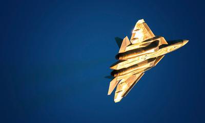 Золотой T-50 T50 пакфа макс самолёт истребитель споттинг авиация aviation spotting