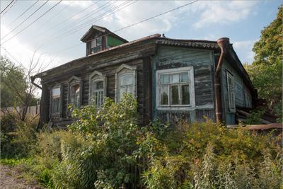 Мой исчезающий город Сергиев Посад дом развалюха
