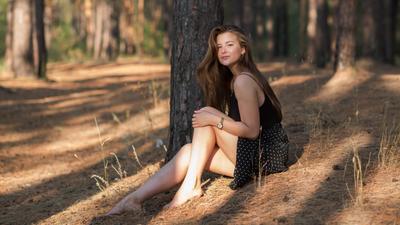 Даша портрет девушка модель