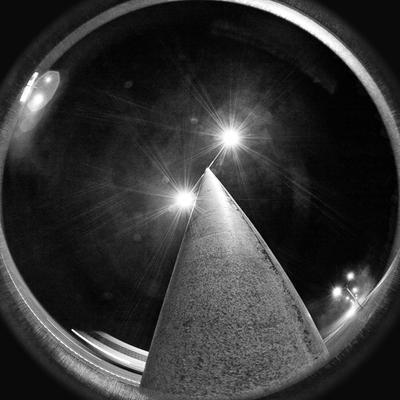 MIDNIGHT ночь фонари fisheye