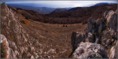 *** Крым Демирджи Осень Панорама