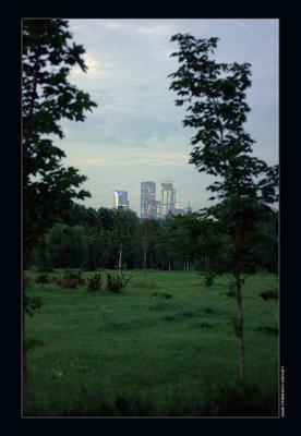 Урбанизация город, москва