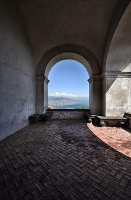 В монастыре. efim58 в Неаполе Италия Чертоза Сан Мартино
