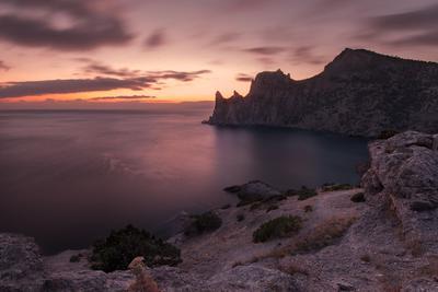 Краски вечера Крым Новый Свет Фотопленер