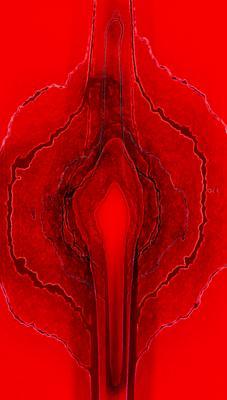 RedSilk ню модель гламур женщина любовь красный арт свет