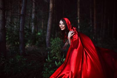 Little Red Riding Hood...