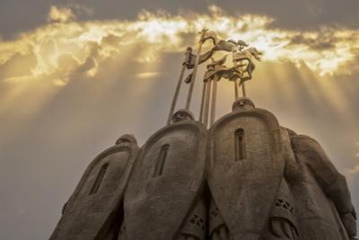 Фрагмент памятника князю Александру Невскому. Памятник князю Александру Невскому Псков гора Соколиха