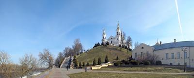 Возрожение Успенский собор Витебск восстановление возрождение виленское барокко набережная западная Двина
